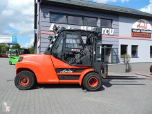 Linde H80D-02/1100 Triplex , side shift chariot diesel occasion