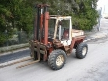carretilla todoterreno Manitou 4RE25R