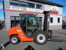 ruw-terrein heftruck Manitou MSI30G Side shift Triplex 3T4.3M