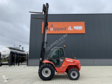 Manitou M30-4, rough terrain, CE-marked, triple-mast, side-shift all-terrain forklift used