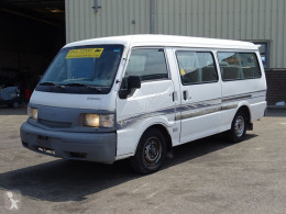 باص باص متوسط Mazda E2000 Passenger Bus 15 Seats Airco Petrol Engine Long Chassis Good Condition