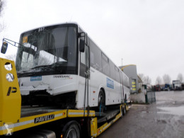 Temsa Tourmalin bus damaged