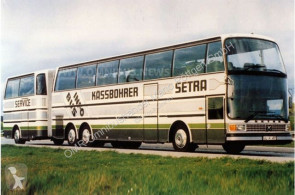 Bus Setra SG 221 HDS/Einzelstück/Messebus/Info linje brugt
