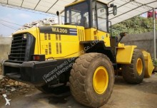 Komatsu WA200-5 Used CAT D6D D6G D6H D7D D7H D7R Bulldozer pá carregadora sobre pneus usada