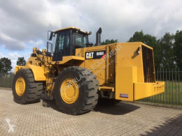 Læsser på dæk Caterpillar 986H demo machine