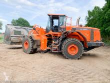 Doosan wheel loader DL550-3 Leichtgutschaufell Scania Motor