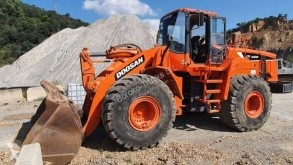 Doosan DL 420 used wheel loader