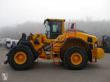 Volvo L 180 H incarcator pe roti accidentată