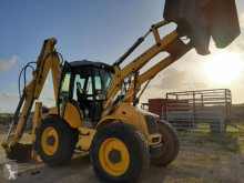 New Holland B115 used rigid backhoe loader