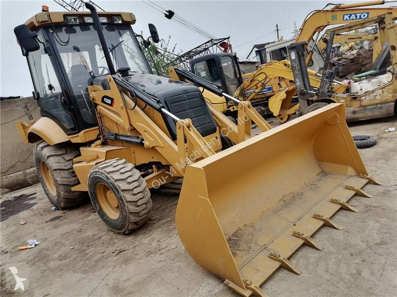 View images Caterpillar 420F loader