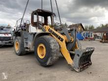 Liebherr L566 pala cargadora de ruedas accidentada