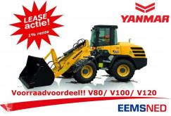 V80 - V100 - V120 Voorraad Actie Lease 1% pala cargadora de ruedas nueva