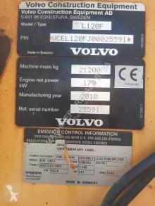 Pala cargadora Volvo L 120 F pala cargadora de ruedas usada