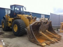 Caterpillar 980H Block Handler incarcator pe roti second-hand