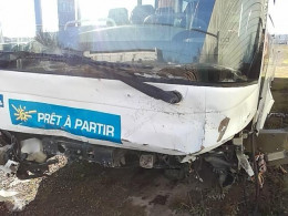 Irisbus Recreo coach damaged