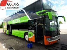 Used two-level coach Setra S 431 DT 431DT EURO6 FLIXBUS