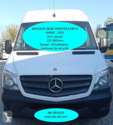 Autocar Mercedes Sprinter 2015 transport scolaire occasion