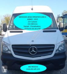 Autocarro Mercedes Sprinter EURO 6 transporte escolar usado