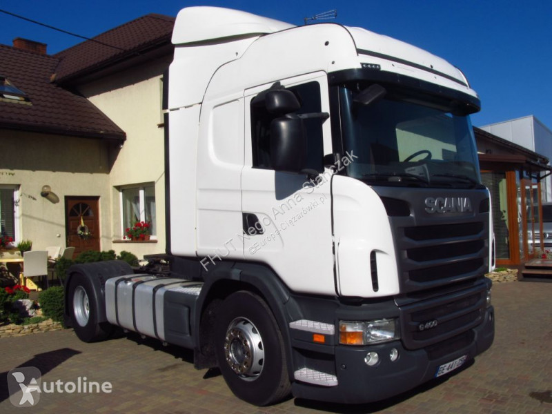 Voir les photos Tracteur Scania R -  G400 HIGHLINE EUO-5 ETADE *2011*