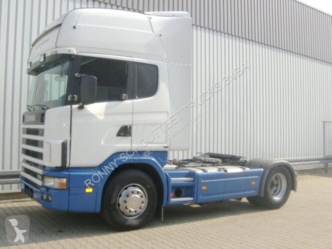 Voir les photos Tracteur Scania R 124  470 4x2 124470 4x2, Kipphydaulik Klima
