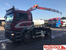 MAN 18-320 HMF 1223+REMOTE CONTROL tractor unit used