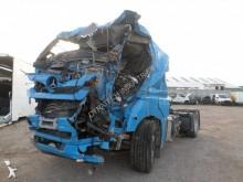 Nyergesvontató Mercedes Axor 1843 balesetes