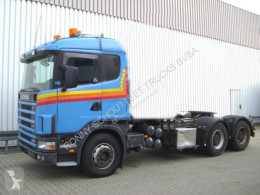 Tracteur Scania 144G 530 6x4 144G 530 6x4 Standheizung/Klima/NSW occasion