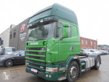 Scania 124 420 Topline Manual tractor unit used