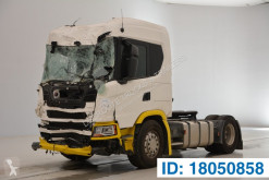 Cabeza tractora Scania G 410 accidentada