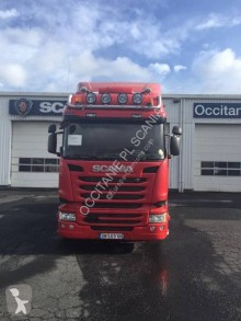 Used exceptional transport tractor unit Scania R 490