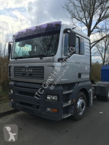 Tracteur MAN 18.430 TGA LX Haus ZF-Getriebe Schubbodenhydraul occasion