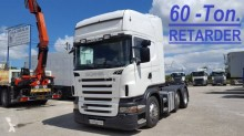 Used exceptional transport tractor unit Scania R 420
