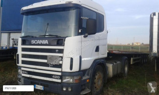 Влекач Scania 124L420 втора употреба