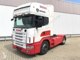 Tracteur Scania R124 L 420 4x2 L 420 4x2, Retarder, Hydraulik occasion