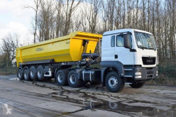 Ensemble routier benne occasion MAN TGS 33.400 icw 4 axle tipper