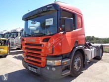 Scania P 420 tractor unit used hazardous materials / ADR