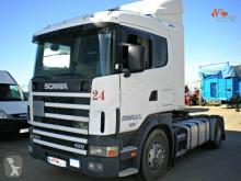 Nyergesvontató Scania 124L 420 használt