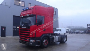 Scania 124 - 420 Topline (MANUAL GEARBOX / BOITE MANUELLE / PERFECT CONDITION) tractor unit