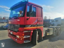Used exceptional transport tractor unit Mercedes Actros 3348