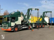tractora semi portacontenedores Scania