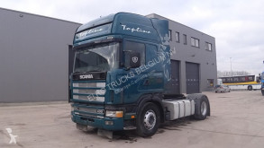 Scania 124 - 400 Topline (MANUAL PUMP AND MANUAL GEARBOX) tractor unit
