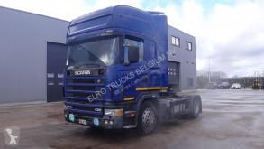 cabeza tractora Scania 124 - 420 Topline (MANUAL GEARBOX / BOITE MANUELLE)