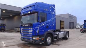 cabeza tractora Scania 114 - 380 Topline (MANUAL GEARBOX / BOITE MANUELLE)
