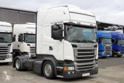 Tratores transporte excepcional Scania R 410 Topline etade Standklima 2 x Tank ACC