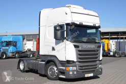 Scania exceptional transport tractor unit R 450 SC Only! Topline Standklima 2 x Tank