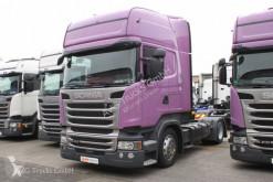 Scania különösen nehéz árut szállító jármű nyergesvontató R 410 Topline Hubsattelkupplung 2xTank ACC LDW