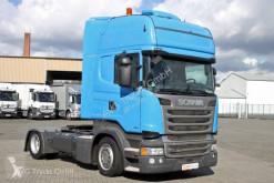 Nyergesvontató Scania R 450 EUO 6 Topline etade ACC Standklima használt különösen nehéz árut szállító jármű
