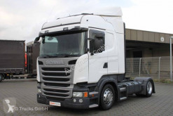 Scania exceptional transport tractor unit R 410 Highline Hubsattelkuplung etade 2xTank