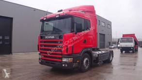 влекач Scania 124 - 400 (MANUAL PUMP / POMPE MANUELLE / PERFECT CONDITION)