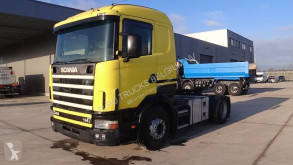влекач Scania 114 - 340 (MANUAL GEARBOX / BOITE MANUELLE / PERFECT CONDITION)